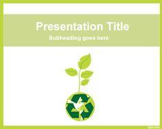 Plantilla PowerPoint de Sustentabilidad