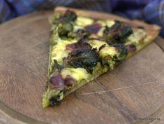 Pizza mit Gänseschinken und Flower Sprouts - Katha-kocht!