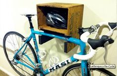 Great reuse for a bike rack.
