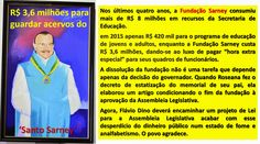 EDGAR RIBEIRO: BOMBA: TRALHAS DE SARNEY CONSOMEM R$ 3,6 MILHÕES D...