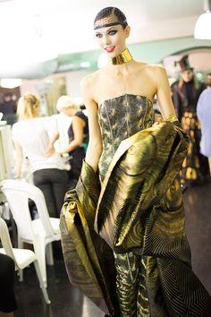 Karlie Kloss  Jean Paul Gaultier Couture 2012