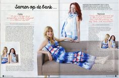 Samen met je baby in je buik op de bank in deze mooie jurk. Together on the cauch in this lovely long maternitydress.