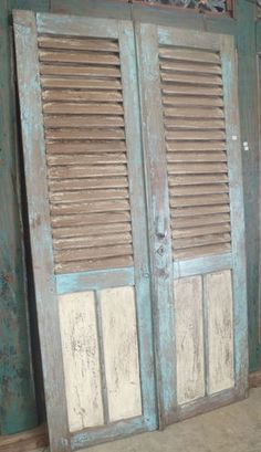 oouvre doors made french shabby - Google Search
