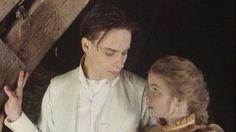 Flickan vid stenbänken - Arild och Berta