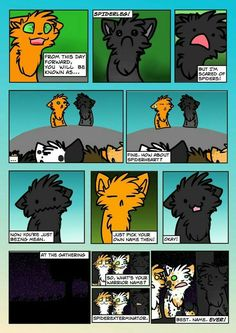 The most random conversations and text messages between the Warrior Cats. By: starryeyediceblaze Highest ranking: #91...