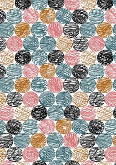 By the way…: Illustration - Free HD Wallpapers Pattern Dots, Boho Pattern, Doodle Pattern, Circle Pattern, Geometric Patterns, Abstract Pattern, Floral Patterns, Dot Patterns, Graphic Patterns