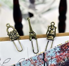 Vintage Bookmark Clips Collection available at CoolPencilCase.com