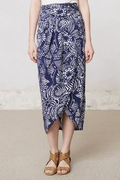 Maya Skirt #anthropologie