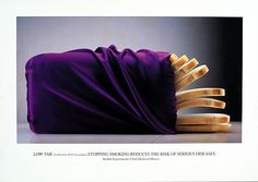 Silk Cut by Paul Arden