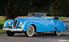 cars from 1947   1947 Delahaye Type 135M Cabriolet