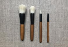 """These premium quality hair brushes are handmade by skilled craftsmen. They rely on a combing technique called """"sarahe dour"""" which allows them to select the best hair and to exclude those who do not have the required quality to make good brushes. Best Hair Brush, Brush Type, Made Goods, Makeup Brushes, Craftsman, The Selection, Cool Hairstyles, Artisan, Good Things"""