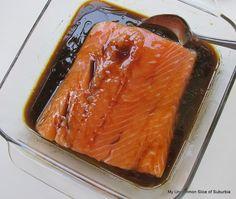 Honey Glazed Salmon Recipe | My Uncommon Slice of Surbibia