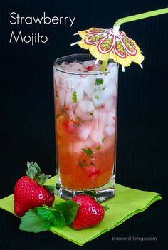 Strawberry Mojito - Perfect for Summer