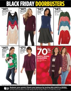 Sears Black Friday 2017 Ad Scan, Deals and Sales Sears' 2017 Black Friday ad is here! Sears will open at on Thanksgiving, and its doorbusters will end at on Black Friday. Check out this year'. Black Friday 2017 Ads, Deal Sale, Kardashian Kollection, Sweater Fashion, Christmas Sweaters, Store Hours, Check, Coupons, Thanksgiving