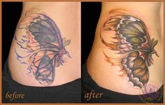 chest tattoo cover ups before and after | Cover Up Tattoos Before and After