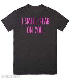 "Smell Fear | ""I can smell fear on you.""  You & Louise from Bob's Burgers have something in common. #Skreened"