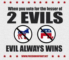 It's still evil.