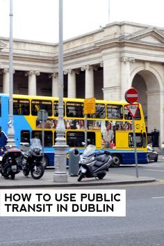 Tips for using public transit in Dublin - cheapest way to get around. #dublin #ireland #travel #traveltips