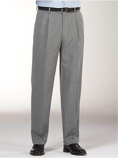 Pants & Shorts - Joseph & Feiss Gray Slacks - Men's Wearhouse Mens Slacks, Grey Slacks, Men Trousers, Designer Clothes For Men, Sweatpants, Man Shop, Joseph, Shorts, Wedding Album