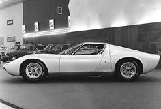 Lamborghini Miura P400. That is a beautiful car.