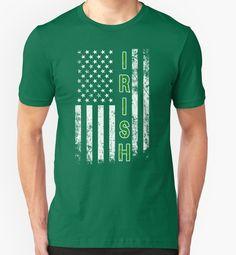 Ireland With Flag Usa Shirt St Patrick's Day - Irish Shirt #birthday #gift #ideas #unique #presents #image #photo #shirt #tshirt #sweatshirt #hoodie #christmas