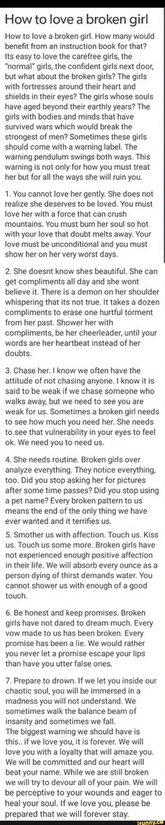 Some fun stuff for you :) Men pull away,feeling unloved,my boyfriend is distant,. Broken Girl Quotes, Great Quotes, Love Quotes, Citations Film, Feeling Unloved, Tumblr, Faith In Humanity, Hopeless Romantic, He Loves Me