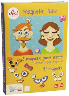 Sevi - Rompecabezas magnético cara (Trudi 82847): Amazon.es: Juguetes y juegos
