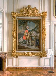 Versailles, a portrait of Louis de France, Dauphin (1729-1765), by Charles Joseph Natoire.