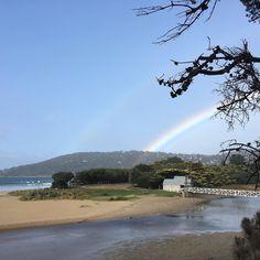 Double rainbow in #Lorne #greatoceanroad #victoria #australia by unecat http://ift.tt/1IIGiLS