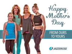 Happy #MothersDay! Give your mom a big hug today!  by jazzerciseinc