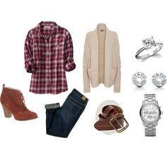 engagement photo outfits | Bingo! Another engagement photo outfit option. Added bonus? I own all ...