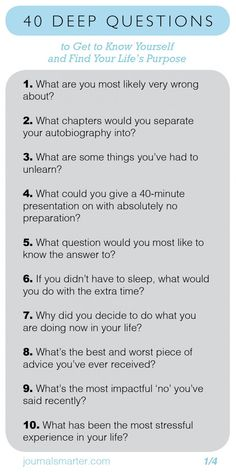 40 Deep Questions To Get To Know Yourself and Your Life Purpose - Journal Smarter<br> Getting To Know Someone, Get To Know Me, Getting To Know Yourself, Deep Questions To Ask, This Or That Questions, Questions To Get To Know Someone, Interesting Questions To Ask, Best Truth Questions, Questions About Life