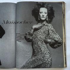 Forever #LouloudelaFalaise in #Mainbocher, 📷by #Avedon - #Vogue november 1st 1970.  #vintage #vintagevogue #americanvogue #richardavedon #fashionphotography #nyfw #glamour #vintagemagazine #chic #style #elegance  #leopard #leopardprint #vancleefandarpels #jewels #hautecouture #fashionhistory #70s #beauty #makeup #diamonds #voguemagazine #dianavreeland #vintagecouture @voguemagazine Richard Avedon, November 1st, Diana Vreeland, Vintage Couture, Van Cleef Arpels, Vogue Magazine, Vintage Vogue, Fashion History, 1960s