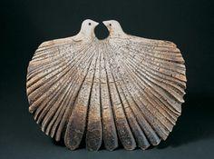 """Bird Form"" Len Castle Clay Birds, Ceramic Birds, Ceramic Animals, Clay Animals, Ceramic Art, Pet Birds, Bird Sculpture, Animal Sculptures, Raku Pottery"