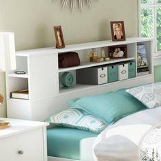 Charmant 30 Minute Creative Organization Projects | Pinterest | Bookcase Headboard, Storage  Headboard And Bedroom Bookcase