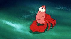 the little mermaid sebastian gif | WiffleGif SOOOOOO CUTE