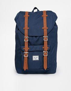 Enlarge Herschel Little America Backpack in Navy