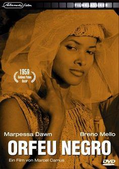 Marpessa Dawn in Orfeu Negro (Black Orpheus) Marpessa Dawn, Black Orpheus, French Directors, African American Beauty, Black Actresses, Gone Girl, African Diaspora, Voluptuous Women, Black Is Beautiful