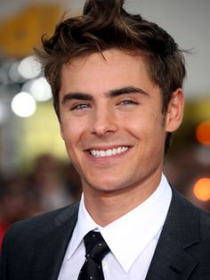 Zac Efron.  I had to find a picture of him that made him look old enough so that I didn't look like a dirty old woman! lol