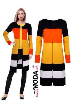 Vychutnajte si jeseň v žiarivom predĺženom dámskom svetri Outfits, Fashion Clothes, Suits, Clothes, Clothing, Dresses, Outfit, Outfit Posts