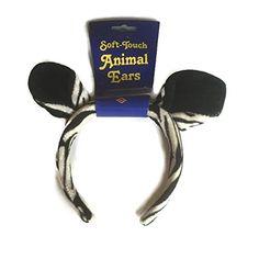 Set of 3 Plush Zebra Animal Ears with Plush Headbands Beistle http://www.amazon.com/dp/B00V5FGP30/ref=cm_sw_r_pi_dp_-bafvb0PEH637