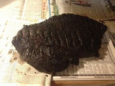 SMOKED BEEF BRISKET Please like share repin Thanks! :)