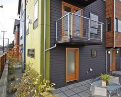 Admiral Way Townhomes - Vandervort ArchitectsVandervort Architects