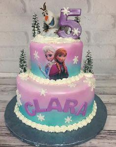 Best Birthdays Ever Frozen Themed Birthday Cake, Frozen Theme Cake, Frozen Themed Birthday Party, 4th Birthday Cakes, Disney Frozen Birthday, Themed Cakes, Turtle Birthday, Turtle Party, Carnival Birthday