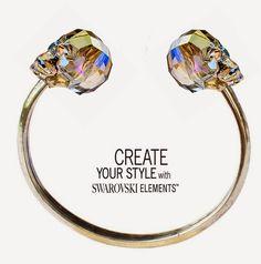 Bracciale Swarovski Skull: progetto di Laura Solerte per  Create your style with Swarovski elements