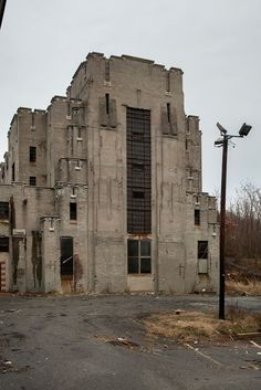 Essex County Penitentiary - abandoned in Caldwell, NJ.  Built in 1827, closed in 1989.  It was placed on the National Register of Historic Places in 1991 however no efforts have been made to preserve it. https://en.wikipedia.org/wiki/Essex_County_Jail