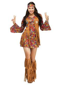60s Hippie Girls Fancy Dress Flower Power 1960s 1970s Hippy Kids Retro Costumes