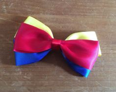 Disney Inspired Frozen Anna and Elsa Hair Bows by closetgeeksite