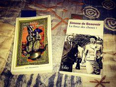 Cette semaine, je lis l'ouvage Les Milles et une nuits tome III traduit par Antoine Galland et La force des choses tome I de Simone de Beauvoir... Et tout cela tranquillement à #Paris ;-) #vendredilecture #ecrivain #ecriture #lecture #lire #auteur #litterature #simonedebeauvoir #philosophie #conte