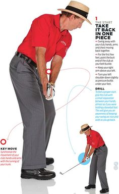 Golf Digest teaching professional David Leadbetter identifies five fundamentals that all great ball-strikers exhibit. Learn what they are along with the drills necessary to blend them into your swing.